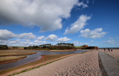 A Walk at Budleigh Salterton